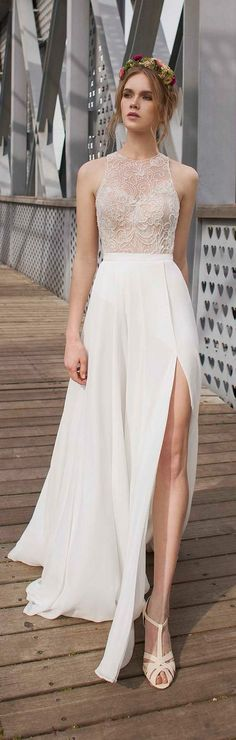 Limor Rosen Beach Wedding Dresses / http://www.deerpearlflowers.com/beach-wedding-dresses-with-gorgeous-details/