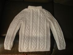 Ravelry: Child's Fisherman Knit Sweater,free pattern by Yarn Lover's Room