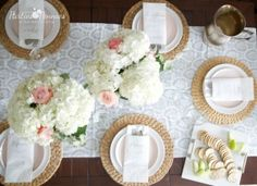 Budget Friendly Dinner Party - Aerial view - Parties for PenniesParties for Pennies