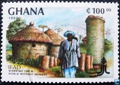 Postage Stamps - Ghana - Anti-hunger