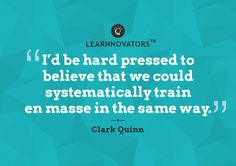Clark Quinn ~ Crystal Balling with Learnnovators