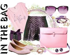 """""""Love Pink & Purple"""" by daincy ❤ liked on Polyvore"""