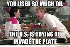 Gordon Ramsey is clever one
