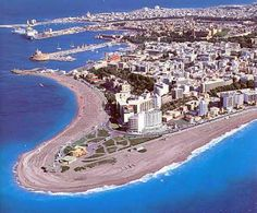 Rhodes, Aegean sea,Greece