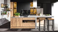 Post with 5 votes and 181 views. Shared by Dom Contemporary Style, Kitchen Island, Studio, House, Furniture, Design, Home Decor, Cooking, Island Kitchen