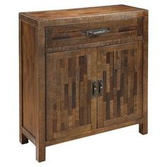 Cayman Cabinet in Rustic Brown