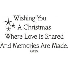 Memories Are Made Christmas Greeting
