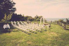 Lake front ceremony