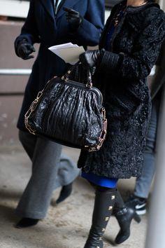 Dior Quilted Frame Bag