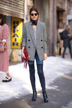 street style fashion week fashion blogger idee outfit olivia palermo outfit estate 2014