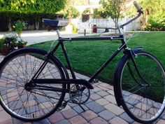 1960's Vintage Mens Bicycle Retro Single Speed, Philips English Bicycles