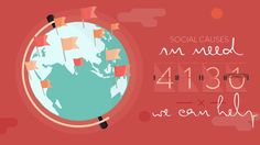 Animation For A Cause is a non-profit that promotes social causes through the use of motion graphics. Creating visually engaging, message driven pieces that can…