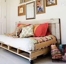 oude pallets bak/ bed