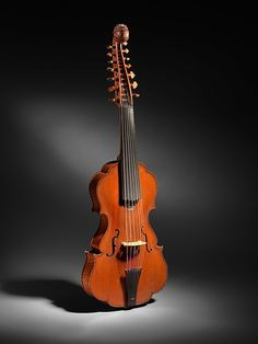 Johannes Florenus Guidantus (Italian, Bologna 1687–1760). Viola d'Amore, 18th century. Spruce, maple, ebony. The Metropolitan Museum of Art, New York.