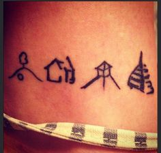 My newest edition to my body. The Shire, Rivendell, Edoräs, Minas Tirith. #LOTR #Nerd #Tattoo