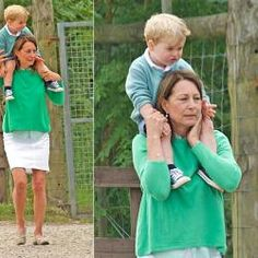 Prince George and Princess Charlotte easily stole the limelight in their adorable Christmas attire, joining their mother Kate Middleton and father Prince William to St. Mark's Church, Englefield. They were accompanied by the Middleton family, Michael and Carole. Also with them were Pippa and her fiance James Matthews and James Middleton.