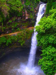 Cascada en Cuernavaca, Morelos, México - Waterfall in Cuernavaca