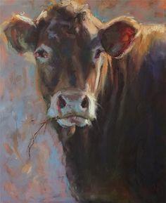 "Daily Paintworks - ""Jessie "" - Original Fine Art for Sale - © Jenny Buckner"