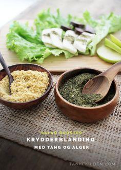 Make your own mineral rich salad booster with super food! / Lag din egen mineralrike krydderblanding med supermat!