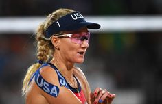 Pin for Later: Die Olympioniken haben die Nägel schön Kerri Walsh Jennings, Beach Volleyball, USA