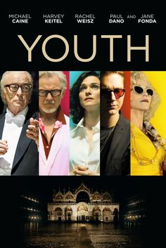 Youth Movie Poster - Michael Caine, Harvey Keitel, Rachel Weisz #Youth, #MoviePoster, #Drama, #PaoloSorrentino, #HarveyKeitel, #MichaelCaine, #RachelWeisz