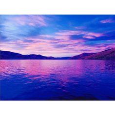 @mytowndraper Sunset on the water. #BeUTAHful