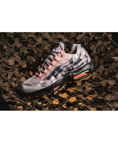 quality design b8986 95b9a Nike Air Max 95 Desert Camo Sunset Tint Trainer Clearance