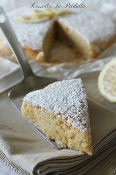 torta al limone senza uova e senza burro Bakery Recipes, Sweets Recipes, Cooking Recipes, Tortitas Light, Biscotti, Sweet Light, Diet Cake, Light Cakes, Muffins