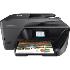 HP Officejet Pro 6978 Inkjet Multifunction Printer - Color - Plain Pa