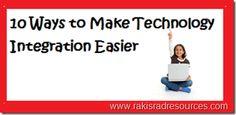 10 Ways to Make Technology Integration Easier Teaching Technology, Technology Articles, Technology Integration, Digital Technology, Teaching Tools, Educational Technology, Teaching Resources, Assistive Technology, Teaching Ideas