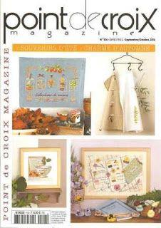 Журналы по вязанию и рукоделию.: Point de Croix Magazine №106 2016