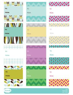 Oh So Lovely Free Printable Gift Tags Lables