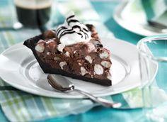 rocky road #icecream #pie   http://www.dairygoodness.ca/recipes/rocky-road-ice-cream-pie
