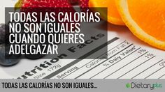 Si quieres adelgazar seguramente estarás revisando las calorías de los productos que vas a consumir. Es un mito muy extendido cuando quieres adelgazar, porq