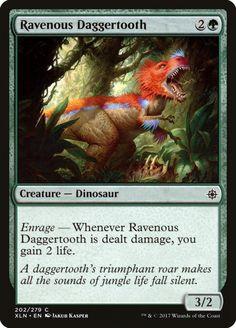 4x FOIL Savage StompNear Mint Magic cards dinosaur uncommon Ixalan XLN x4