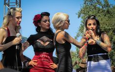 These rockabilly gals are owning it, Irvine, CA