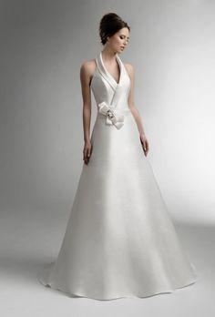 Taft en Tule, trouwjurk, bruidsjapon, kanten jurk, jurk met mouw, gladde jurk