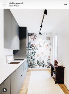 Kitchen Reno, Kitchen Design, Cool Picks, Bali Fashion, Cafe Bar, Wallpaper, Decoration, New Homes, Interior Design