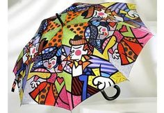 Loving Romero Britto...reminds me of Peter Max
