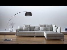 Lampa stojąca - podłogowa - kolor czarny - oświetlenie - BENUE