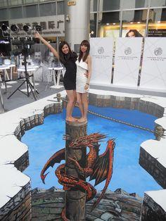 streetart-Chinese-dragon