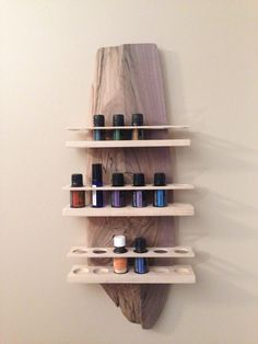 Amazing Wooden Essential Oil Rack!