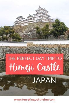 Tips for planning the perfect Himeji Castle day trip from Osaka, Japan Magical Vacations Travel, Vacation Trips, Places To Travel, Travel Destinations, Travel Advice, Travel Guides, Travel Tips, Asia Travel, Japan Travel