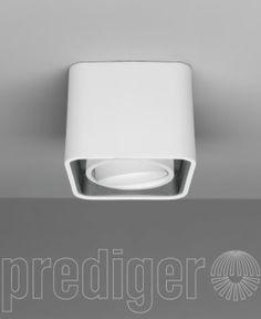 Mini Light Case LED Deckenleuchte Außen Weiß Innen Grau