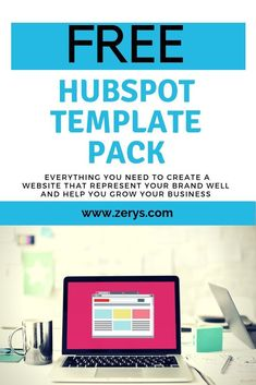 Looking for free HubSpot templates? Zerys has HubSpot email templates, and HubSpot landing page templates. Marketing Strategy Template, Content Marketing Tools, Inbound Marketing, Marketing Plan, Best Seo Tools, Website Template, Templates, Blogging, Tips
