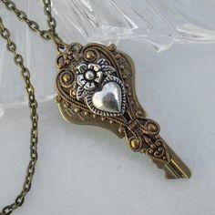 Key to Eternal Love - Pendant. $38.00, via Etsy.