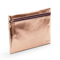 Poppin Copper Slim Accessory Pouch | Desk Accessories | Cool Office Supplies #workhappy