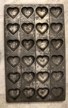 Cast Iron chocolate mold