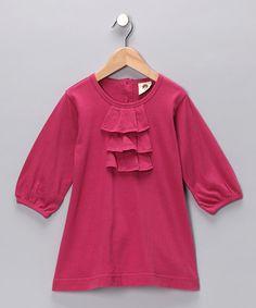 Hibiscus pleated dress