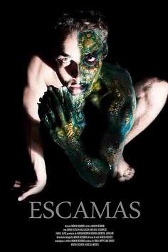 Maquiagem que fiz/ makeup by me ! #escamas #homempeixe #fishscales #make #makeupfx #bodypainting